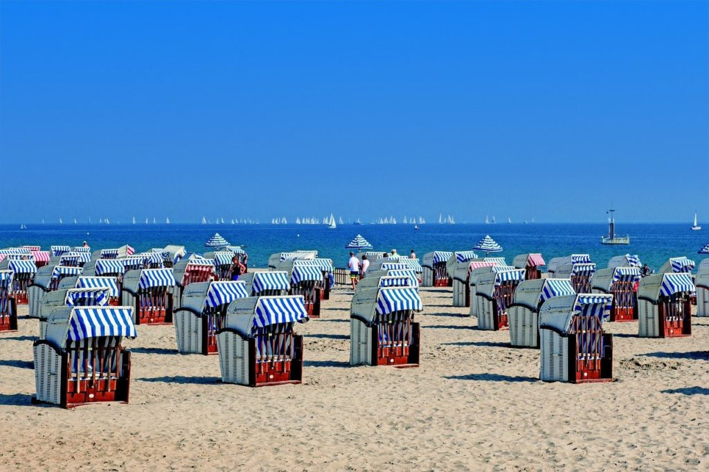 Strandkörbe Nordsee